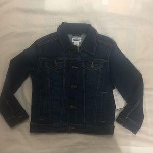 Unisex Kids Jean Jacket Size 8 NWT